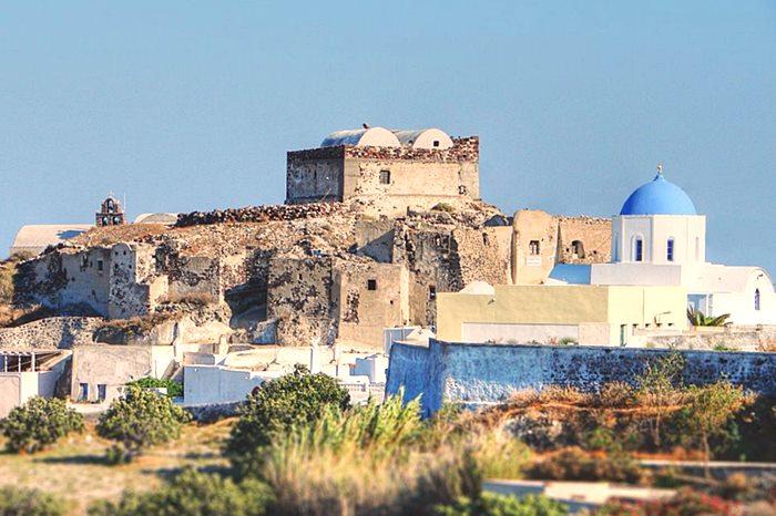 Castelul Akrotiri Santorini