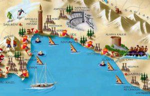 obiective turistice din Antalya