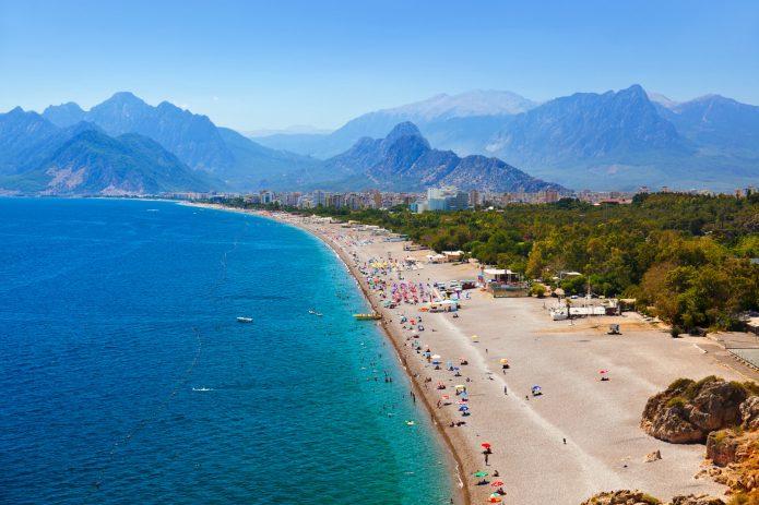 Plaje Antalya. Plaje cu nisip fin