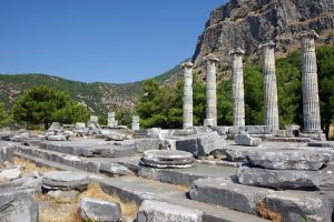 Photo Situl arheologic Priene