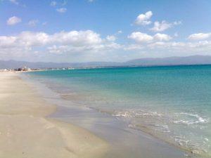 Photo Plaja Poetto