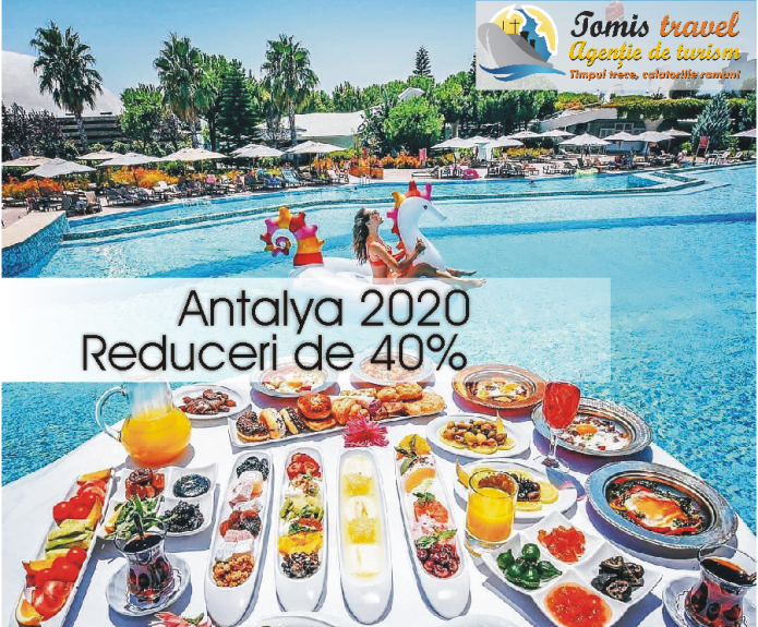 Vacanta Antalya cu early Booking