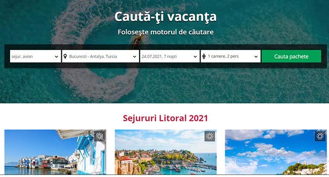 Lansare site Tomis Travel